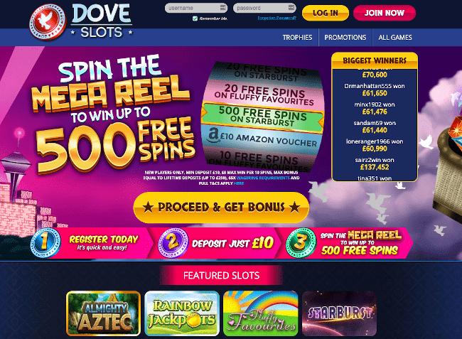 Dove Slots Alternative