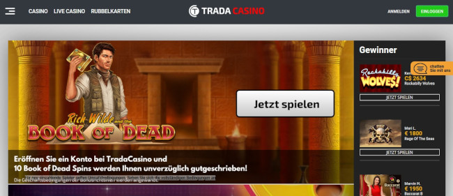 Trada Casino Alternative
